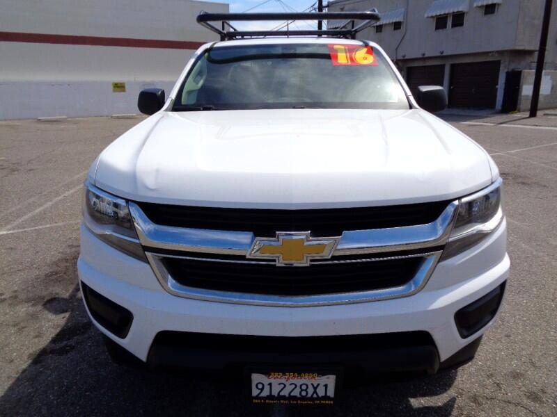 2016 Chevrolet Colorado LT EXT CAB WITH UTILITY BOX AND RACK