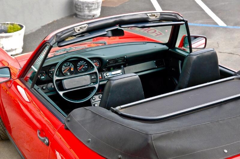 1987 Porsche 911 Carrera 2dr Cabriolet