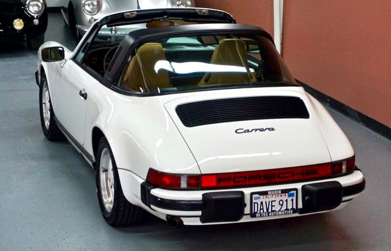 1986 Porsche Targa