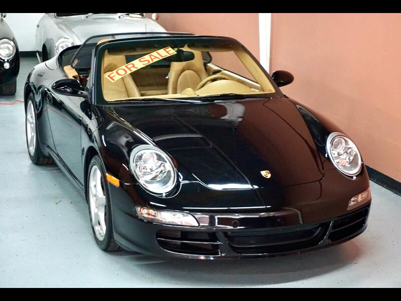 Porsche 911 Carrera 2dr Cabriolet Carrera 6-Spd Manual 2007