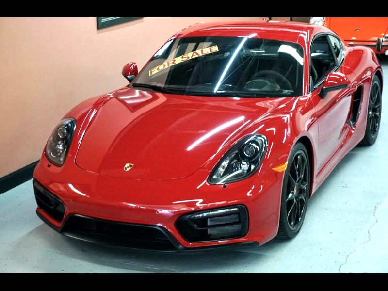 Porsche Cayman 2dr Cpe GTS 2015