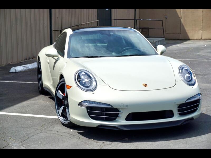 Porsche 911 2dr Cpe 50th Anniversary Edition 2014