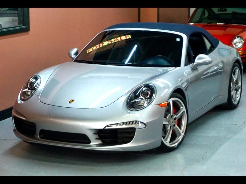 Porsche 911 2dr Cabriolet 991 Carrera S 2013