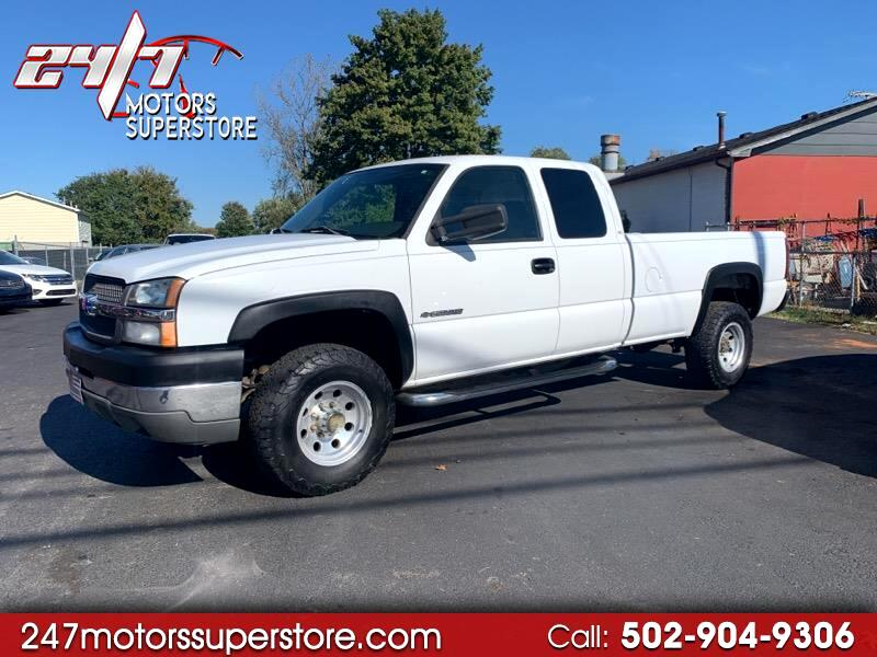 Chevrolet Silverado 2500HD Work Truck Ext. Cab Short Bed 2WD 2004