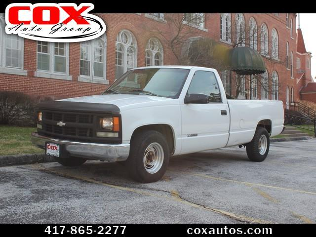 1998 Chevrolet C/K 1500 Reg. Cab W/T 8-ft. bed 2WD