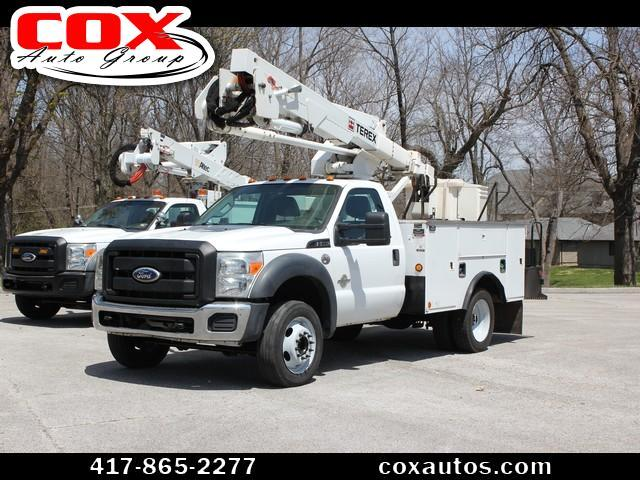 2011 Ford F-550 Terex Hi-Ranger LT-40 Bucket Truck 4WD