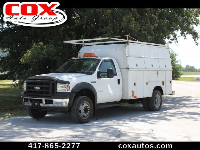 2006 Ford F-550 Enclosed Utility Truck