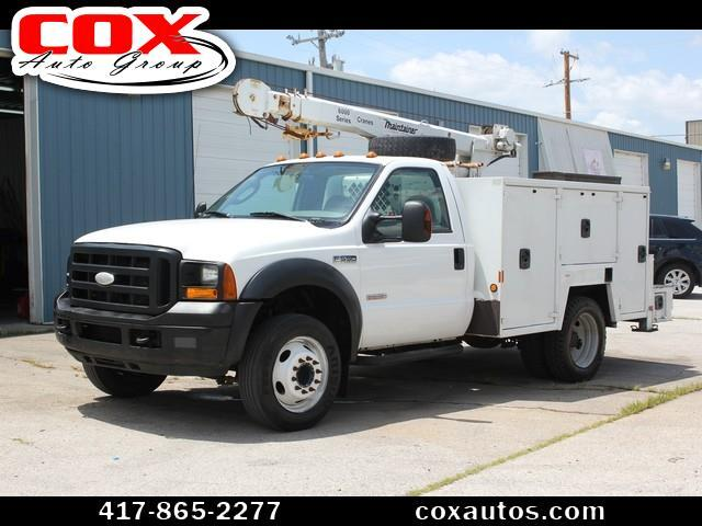 2006 Ford F-550 Maintainer 6000 Series Crane