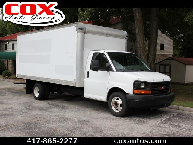 2011 GMC Savana G3500 Box Truck