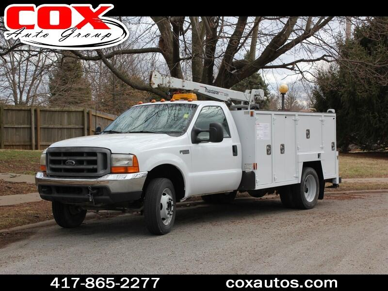 1999 Ford F-550 Mechanic's Service Truck