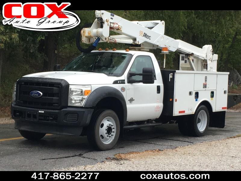 2012 Ford F-550 Altec AT37G Bucket Truck