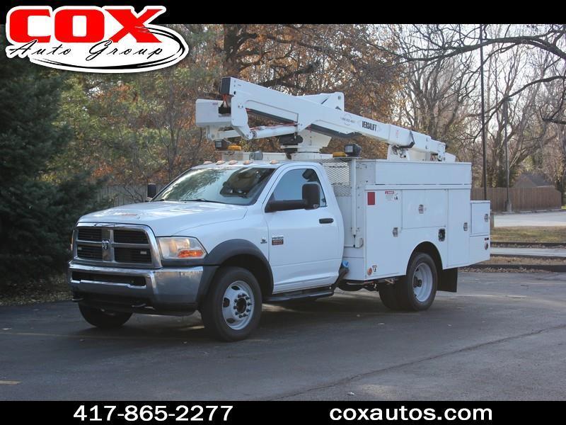 2011 Dodge Ram 5500 Versalift SST-37-EIH Bucket Truck