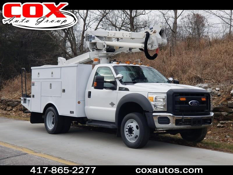 2012 Ford F-550 Altec AT37G Bucket Truck 4WD