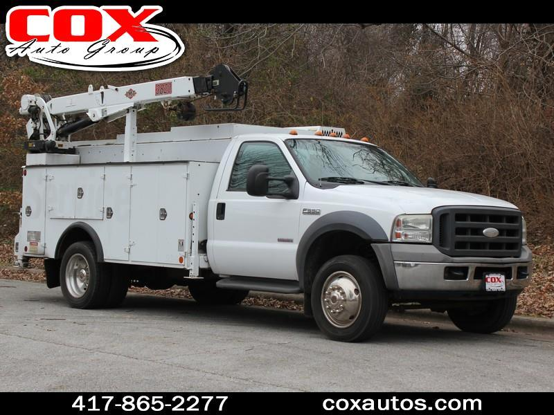 2005 Ford F-550 Mechanic's Service Truck