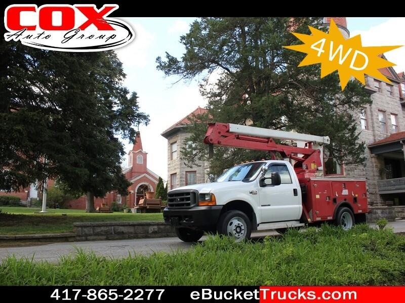 1999 Ford Super Duty F-450 DRW Lift-All LAH32-1S 4WD Bucket Truck