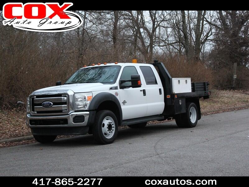 2011 Ford F-550 Crew Cab Flatbed DRW 2WD