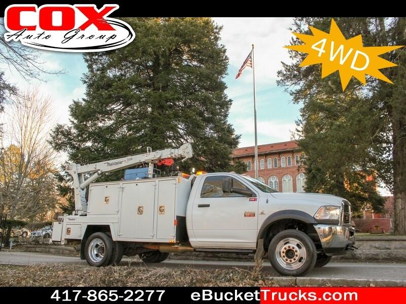 2012 Dodge Ram 5500 Maintainer 3220 Mechanics Truck 4WD