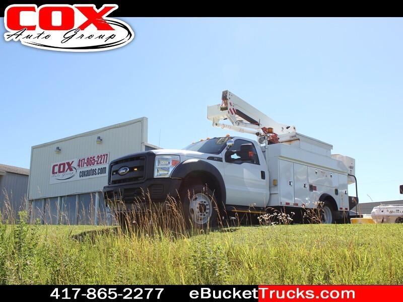 2011 Ford F-550 Terex Versalift SST 40 EIH 4WD Bucket Truck