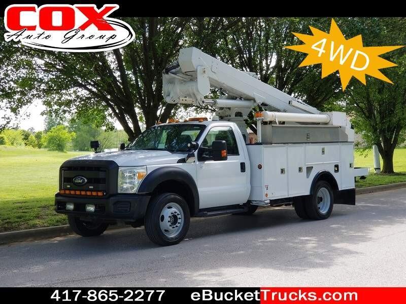 2011 Ford F-550 Hi-Ranger TL37-M 4WD Bucket Truck