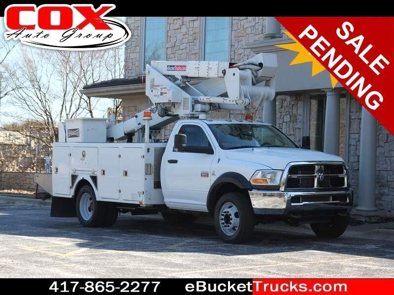 2011 Dodge Ram 5500 Terex Hi-Ranger LTM40 4WD Bucket Truck