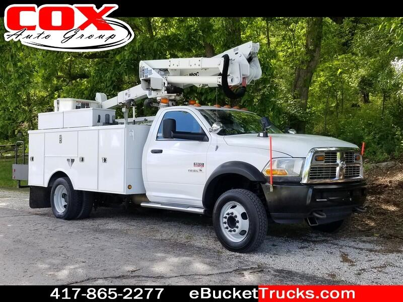 2011 Dodge Ram 5500 Altec AT37G Bucket Truck