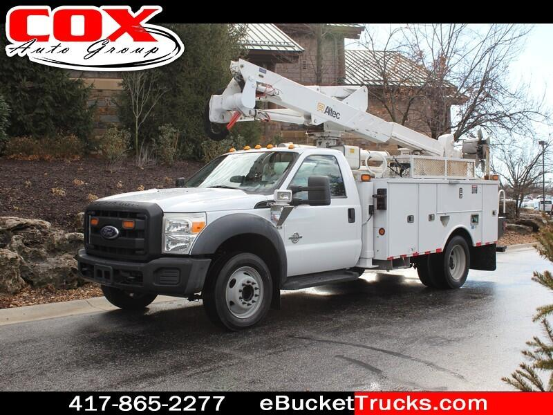 2011 Ford F-550 Altec AT37G Bucket Truck