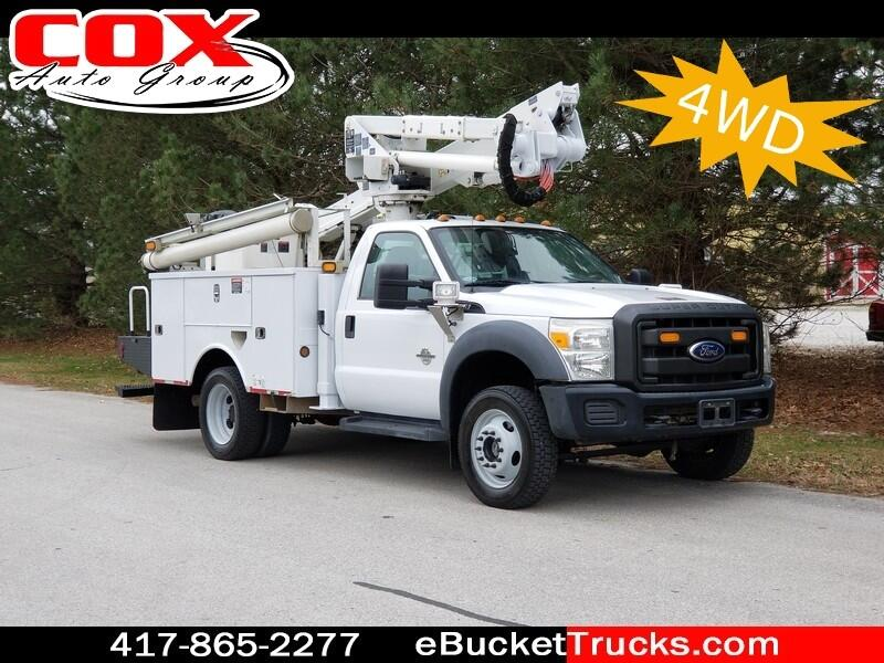 2011 Ford F-550 Altec AT37G Bucket Truck 4WD