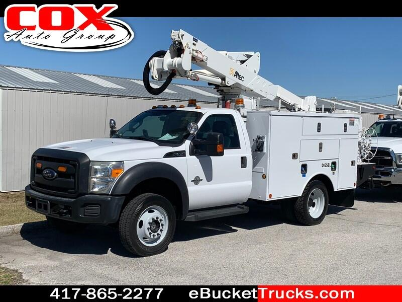 2012 Ford F-550 Altec AT37G Bucket 4WD
