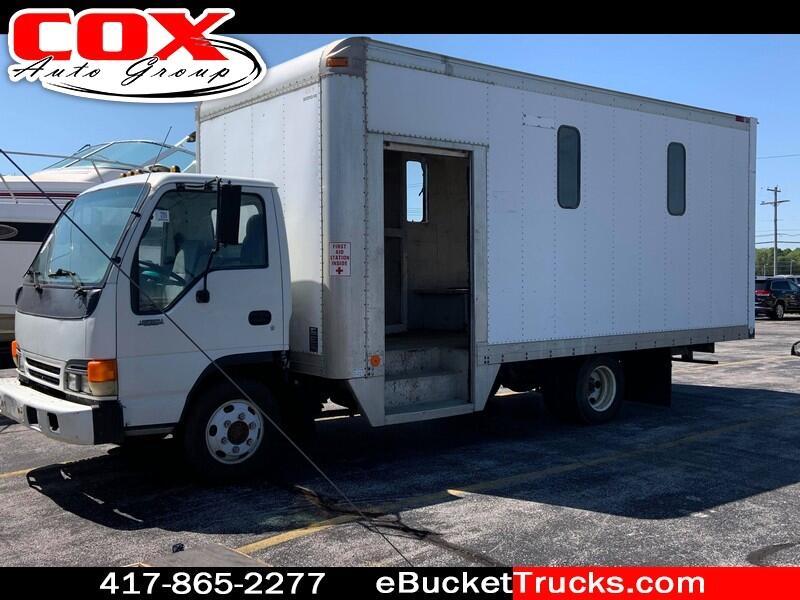 1996 Isuzu NPR Side Step Box Truck