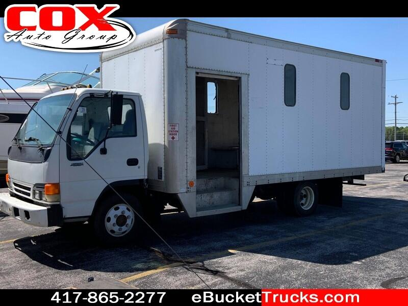 1996 Isuzu NPR Side Step Box Truck