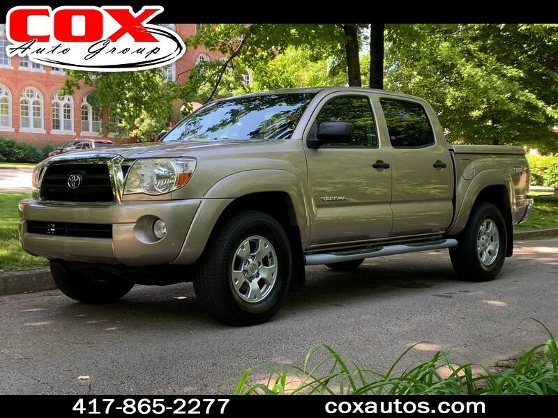 2005 Toyota Tacoma SR5 Double Cab V6 Automatic 4WD