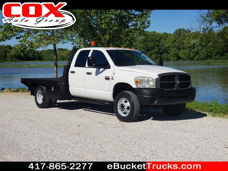 2007 Dodge Ram 3500 Quad Cab Flatbed