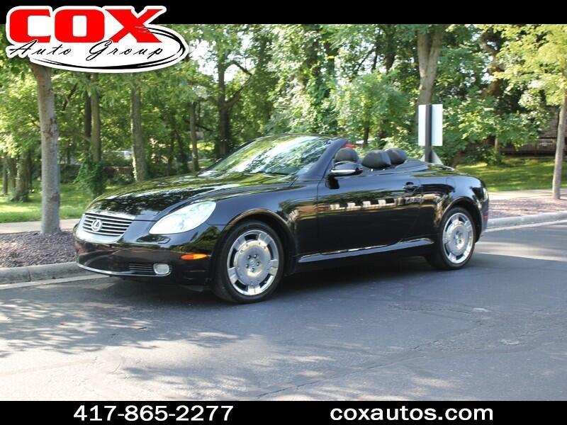 2003 Lexus SC 430 Convertible