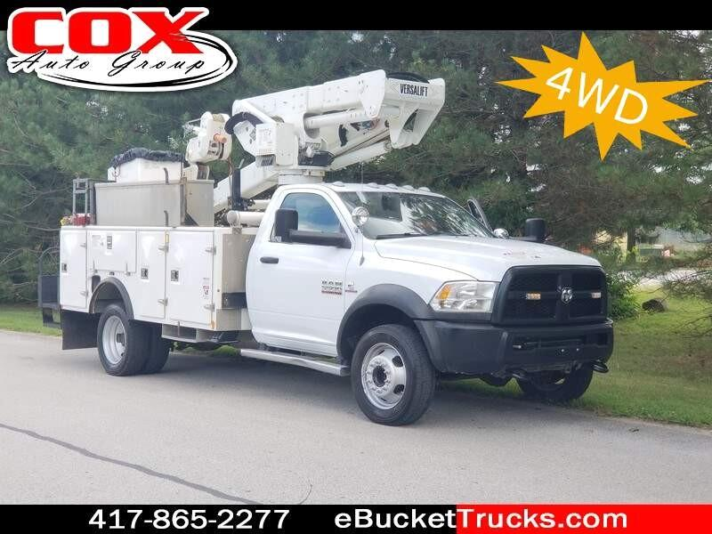 2013 RAM 5500 Versalift VST-40-I 4WD Bucket Truck