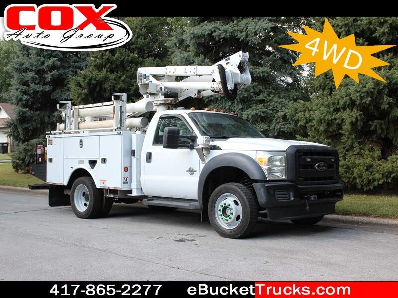 2012 Ford F-550 Altec AT37G 4WD Bucket Truck