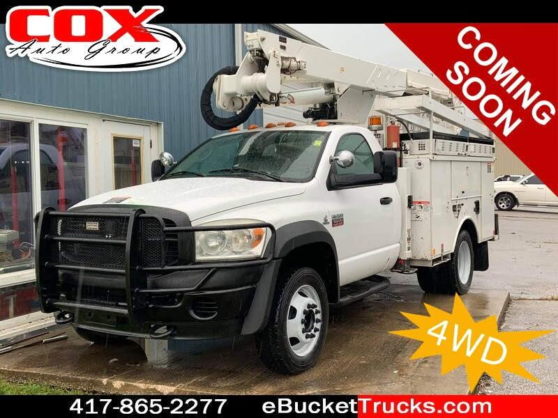 2009 Dodge Ram 5500 Altec AT37G 4WD Bucket Truck