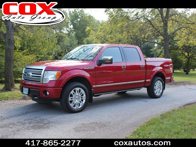 2012 Ford F-150 Platinum SuperCrew 5.5-ft. Bed 4WD