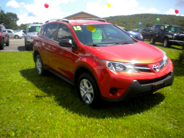 used 2015 toyota rav4 le awd for sale in norwich ny 13815 north norwich motors trailer sales llc. Black Bedroom Furniture Sets. Home Design Ideas