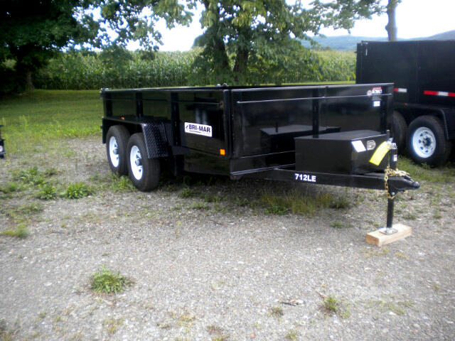 2018 Bri-Mar HD Dump Trailer 7X12 LOW PROFILE DUMP 10K
