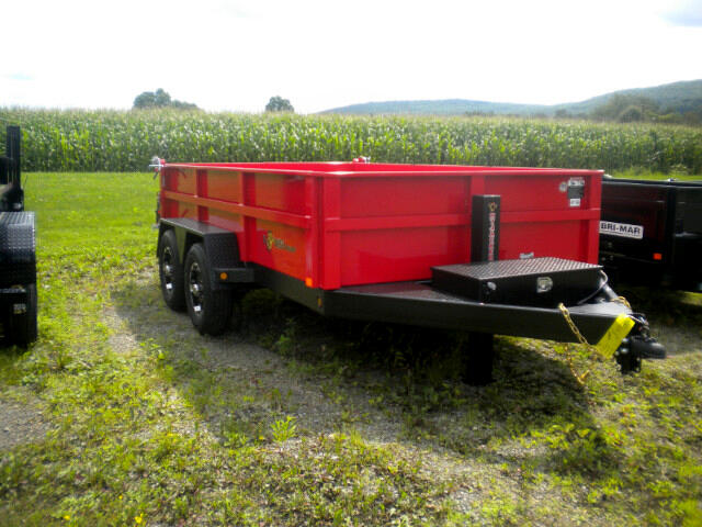 2018 BWise Dump - Heavy Duty 7X12 LOW PROFILE  10K