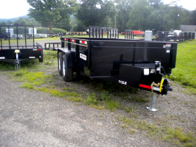 2018 Bri-Mar Low Profile Dump Trailer 7X12 LOW PROFILE DUMP   12K