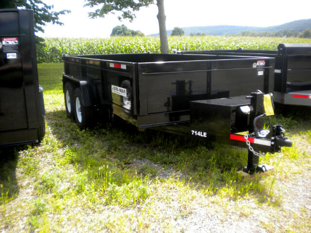 2018 Bri-Mar Low Profile Dump Trailer 7X14 DUMP TRAILER   14K