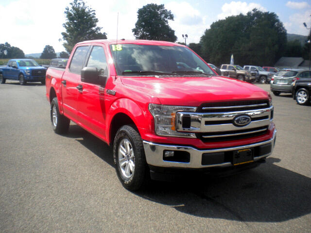 2018 Ford F-150 XLT SuperCrew 5.5-ft. Bed 4WD