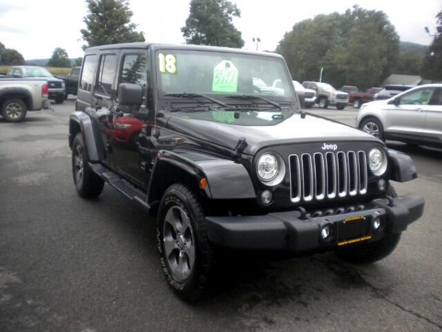 2018 Jeep Wrangler JK Sahara 4x4