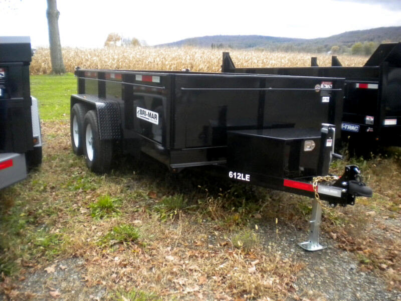 2019 Bri-Mar Low Profile Dump Trailer 6X12 LP LE DUMP TRAILER  12K