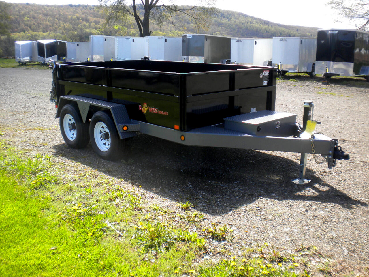 2019 BWise Dump - Low Profile 6X10 DUMP WITH COMBO GATE AND RAMPS  10K