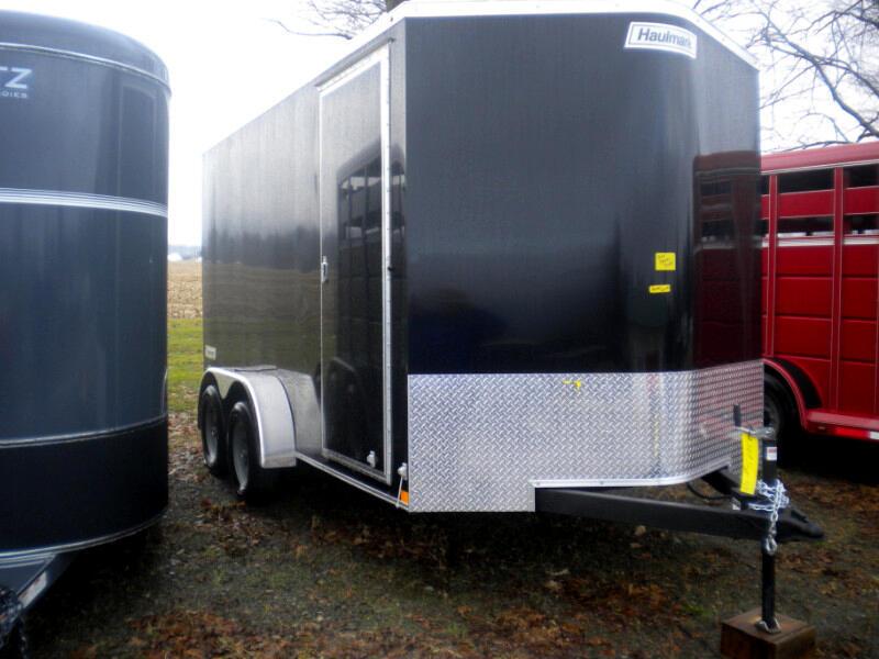 2019 Haulmark Transport 7X14 V NOSE WITH RAMP   7K
