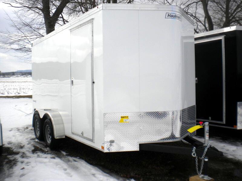 2019 Haulmark Transport TSV714T2  7X14  V NOSE WITH RANP  7K
