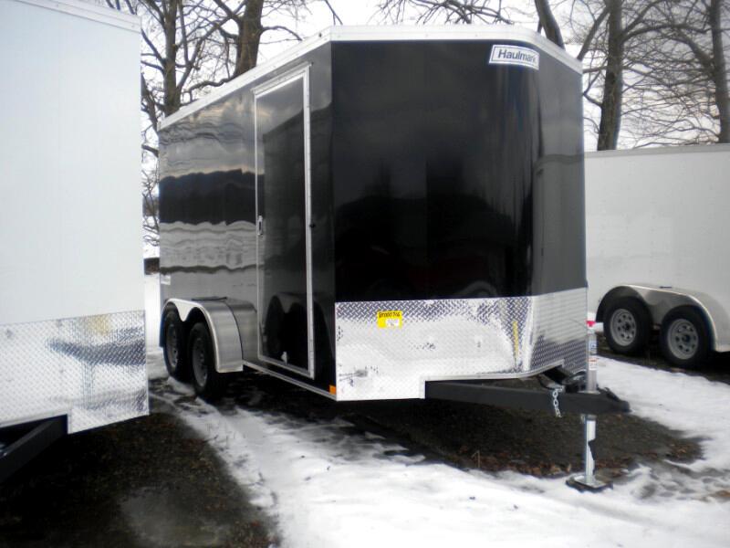 2019 Haulmark Transport TSV714T2  7X14 V NOSE WITH RAMP   7K