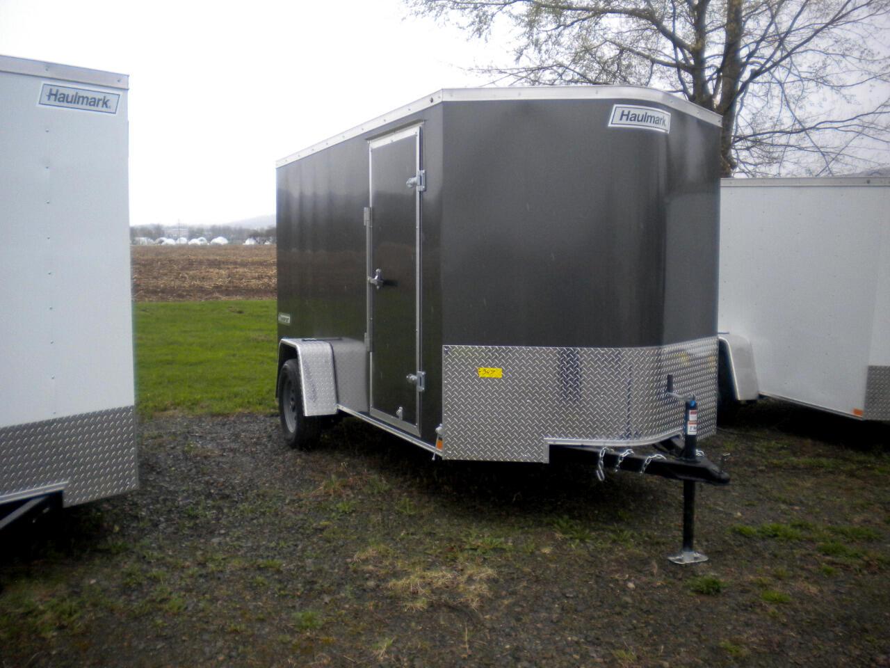 2019 Haulmark Transport TSV612S2 6X12 V NOSE WITH RAMP   3K
